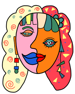 ftestickers picasso picassoface freetoedit