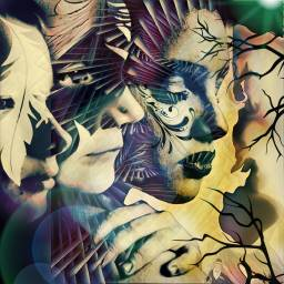 FreeToEdit seattle awesome wild justme color bright face art artwork awesome women cool art colorful crazy