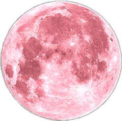 pink earth moon galaxy freetoedit