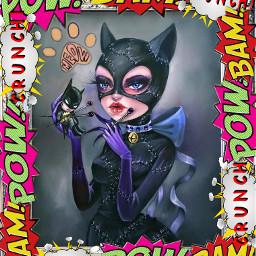 freetoedit catwoman stickersedit stickers_everywhere myedit