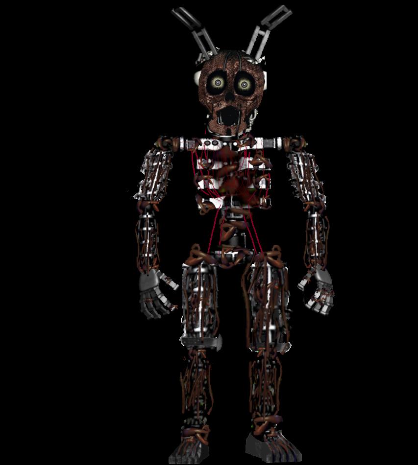Freetoedit Springtrap Endoskeleton Fnaf Endoskeleton