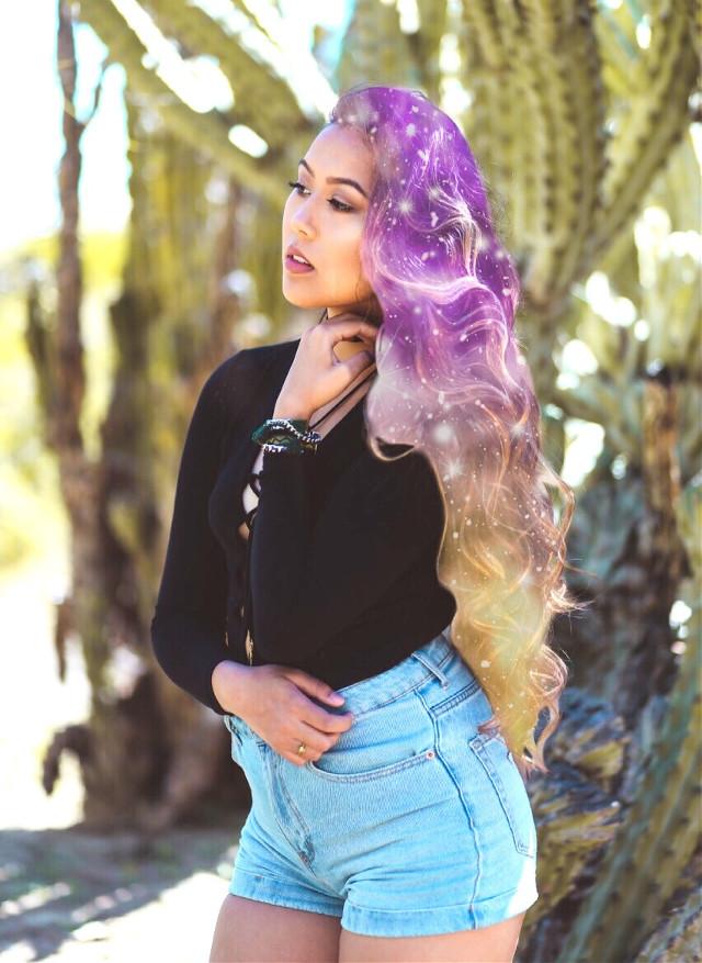#FreeToEdit #galaxyhair #coachella2017 #coachella #clipart #stardustclipart