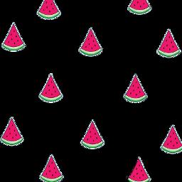 ftestickers mask watermelon fruitstickers sweet sweetness juicy fruits FreeToEdit