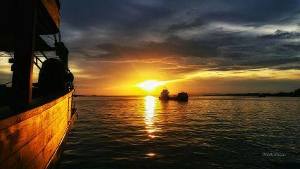 sunset sunsetlovers ship photography horizon