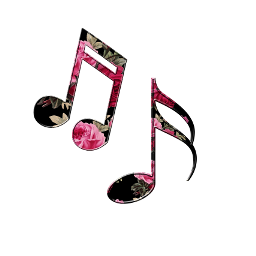 ftestickers music notes musiclover colors FreeToEdit