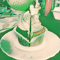 freetoedit cupcake green magic greenmagiceffect