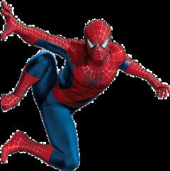 spiderman blue red comic heroe
