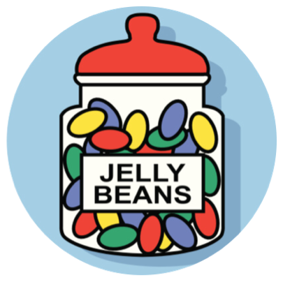 #ftestickers #jellybeans #jellybeansstickers #FreeToEdit