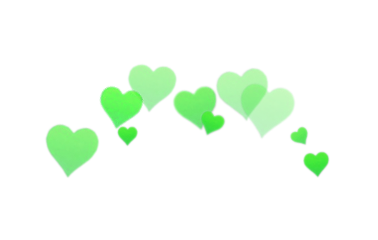 green lime hearts greenhearts love