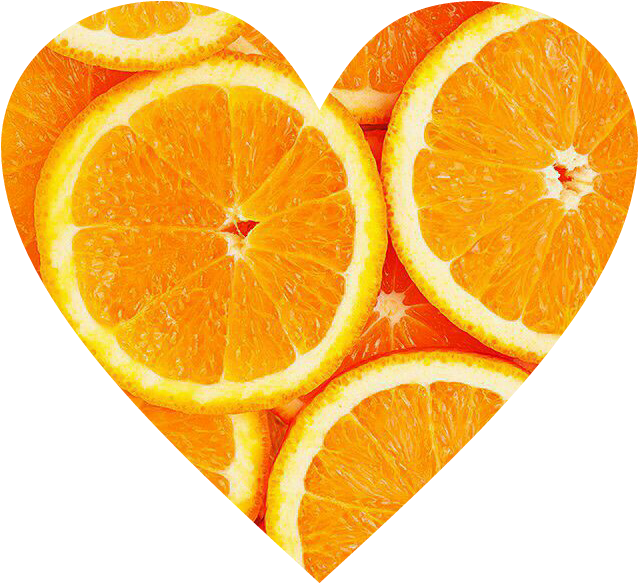 #cute #summerstickers #summer #oranges #orange #orangeheart #orangeslices #heart #love