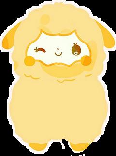 yellow sheep freetoedit