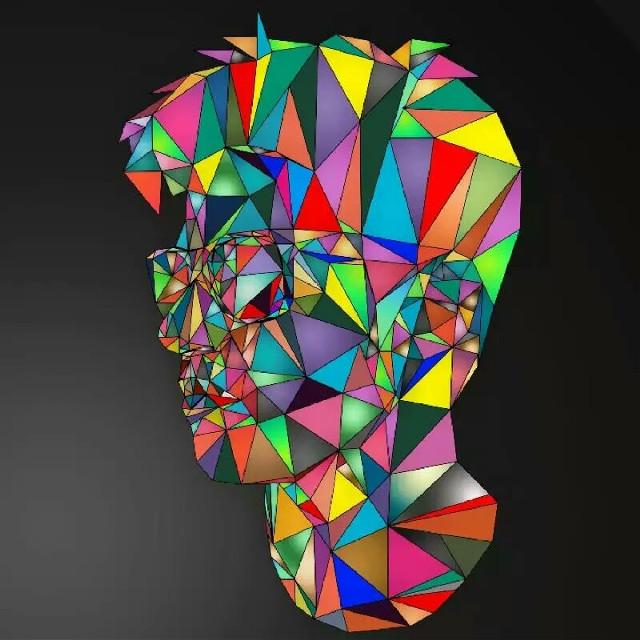 #FreeToEdit #lowpoly #art #lineart #wpap #colorful #geometric #recolor #sunglasses #traingular #picsart #enjoy