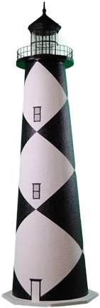 lighthouse blackandwhite pattern freetoedit