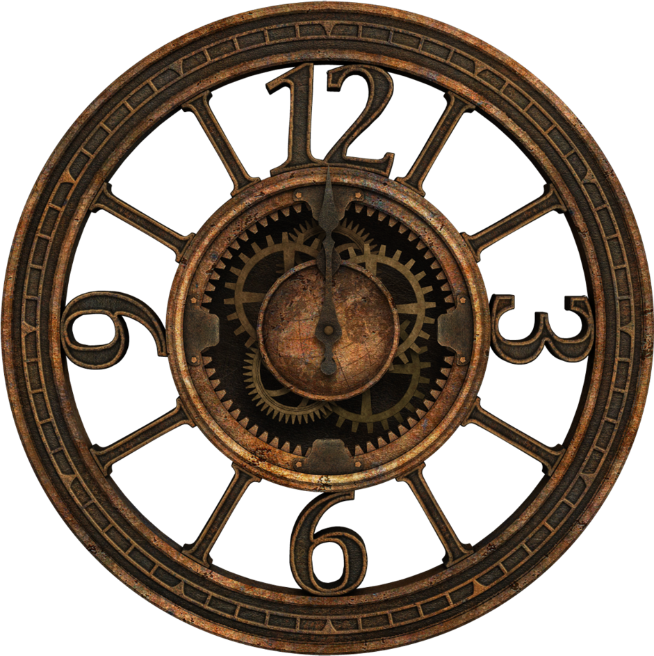 #steampunk #clock
