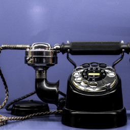 freetoedit minimalistic telephone objects