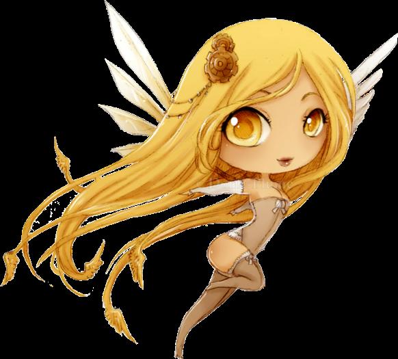 #chibi #angel #kawaii