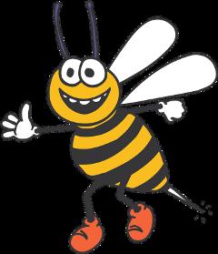 ftestickers bee beestickers freetoedit