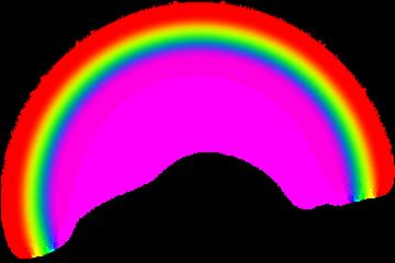 arcoíris rainbow freetoedit arco