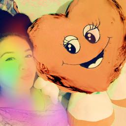 freetoedit heart rainbow picsart