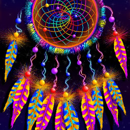 wdpdreamcatcher dreamcatcher mydrawing colorful feather