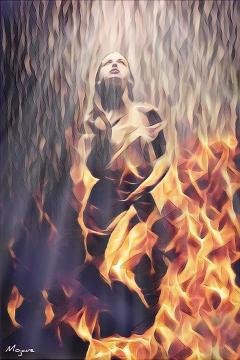 magiceffect nightcore split freetoedit flame