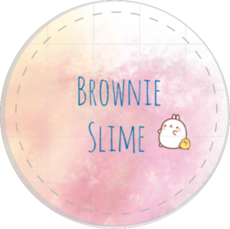 Logo slime insta finally finished with my logo