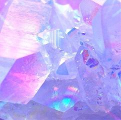 freetoedit aesthetic diamonds purple ice