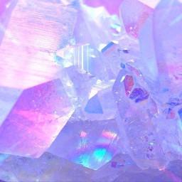 freetoedit aesthetic diamonds purple ice