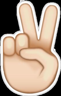 peace emoji ✌ freetoedit