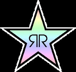 rockstar energydrink logo drink pink
