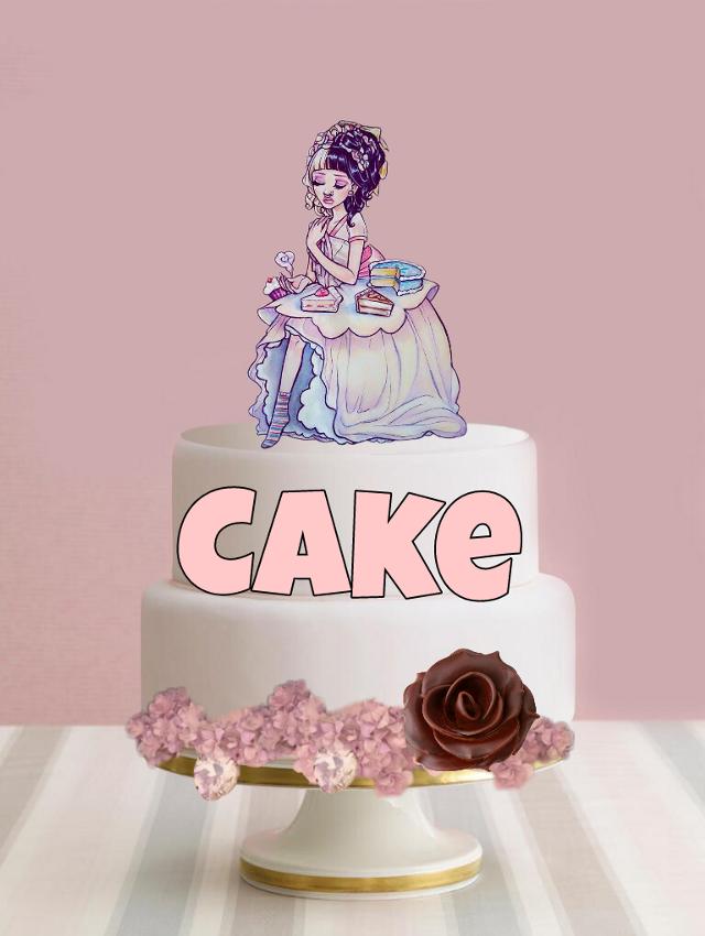 #FreeToEdit #cake #melaniemartinez #melanie