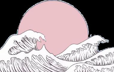 aesthetic wave paradise freetoedit