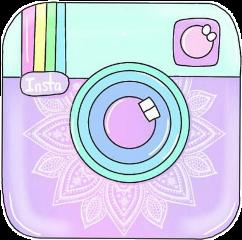 instagram logo aesthetictumblr cute pastel freetoedit...