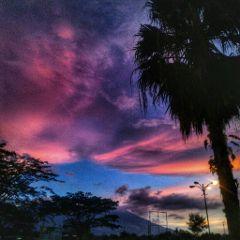sunset photography nature clouds picsart