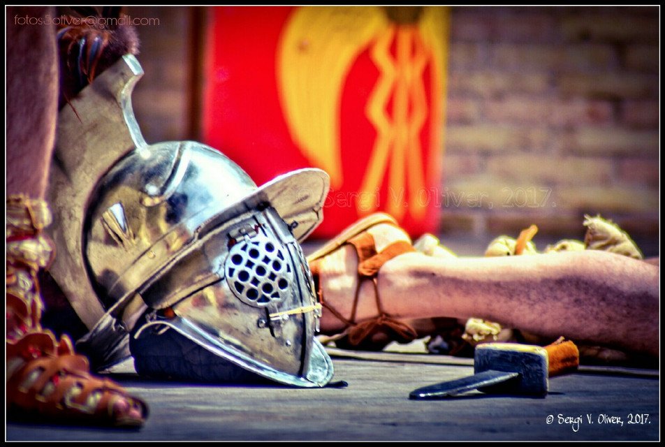 Sometimes you cannot win... - SAGVNTVM INVICTA 2017 (Sagunt, Spain)   #photography #people #reenactment #gladiators