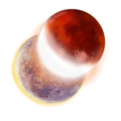 freetoedit eclipse planets moons moonstickers