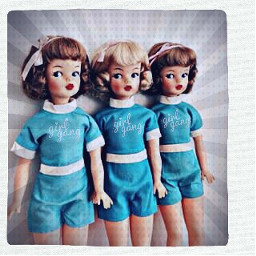 freetoedit vintage vintagealtered dolls gang