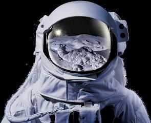 ftestickers astronaut man freetoedit