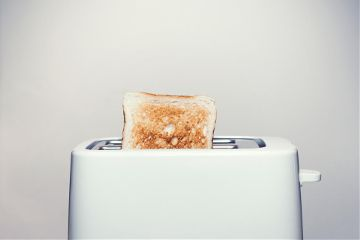 freetoedit toaster breakfast object white