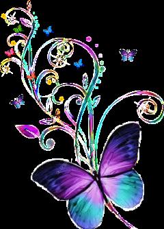 butt butterfly freetoedit