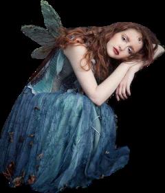 sticker fairy woman wings fantasy