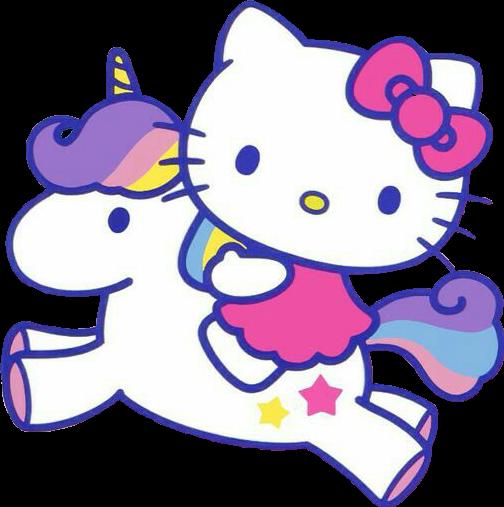 #unicornremix #hello kitty #rainbow #fantasy