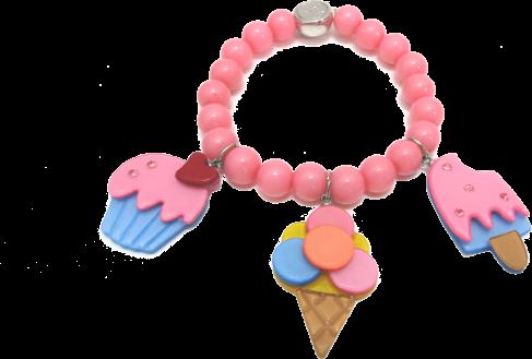 #girls #littlegirls #bracelet #jewelry #pink