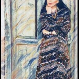 freetoedit ethnic portrait girl gypsy