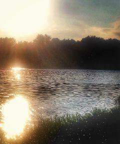 freetoedit remixit river dusk nature