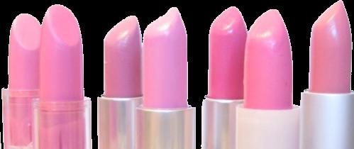 pink girly border lipstick makeup