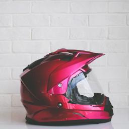 FreeToEdit red object helmet