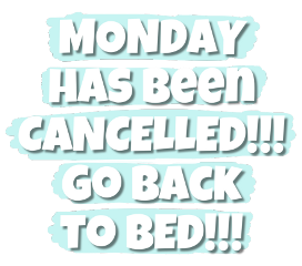 ftestickers monday text