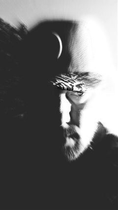 freetoedit man portrait blackandwhite contrast
