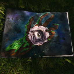 dpcpainting drawing flower nature eye